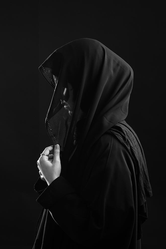 Saudi Artist, Portrait