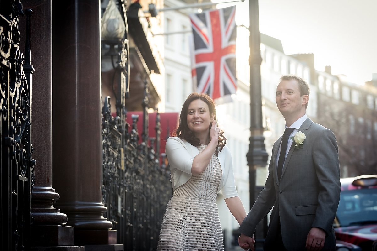 alex Brown and Jessica, Wedding, Mayfair, London, 2015